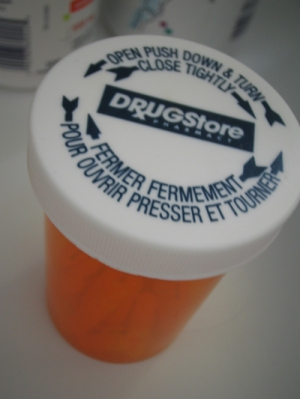 Drug Pill Bottle Top