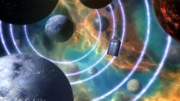 Doctor Who - the Stolen Earth screencap.