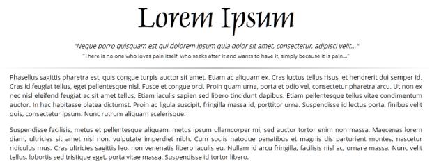 Lorem Ipsum Random Word Generator.
